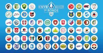 20160826 loting 1e ronde KNVB beker