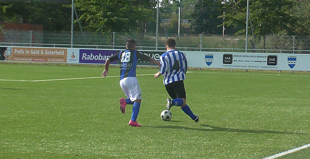 DWS walst na valse start over Diemen heen - Het Amsterdamsche Voetbal (persbericht) (Blog)
