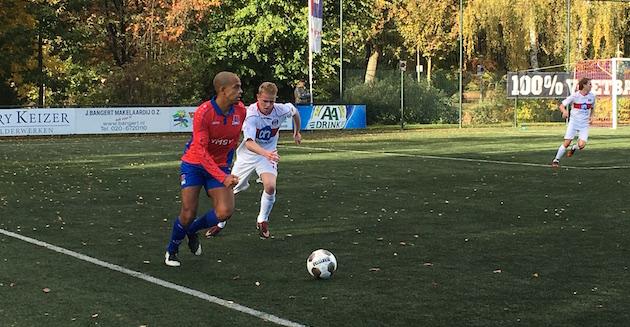 Raymond Fafiani in duel met Martijn Koelewijn