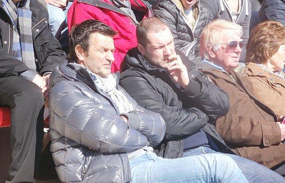 Cor ten Bosch keek toe vanaf de tribune