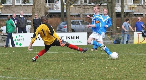 Foto Jos Spitteler: FC Amsterdam verloor zondag met 11-1 van NFC