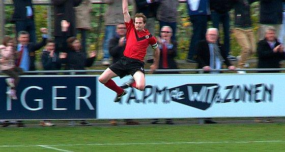 Sjoerd Jens in de lucht