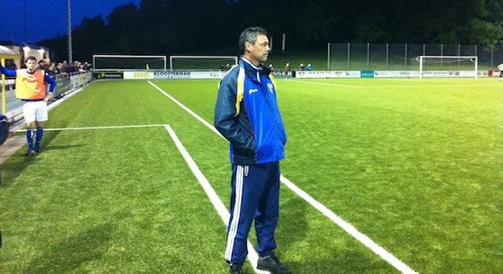 Trainer Karel Knaap weet dat het er niet meer in zit zo vlak voor tijd