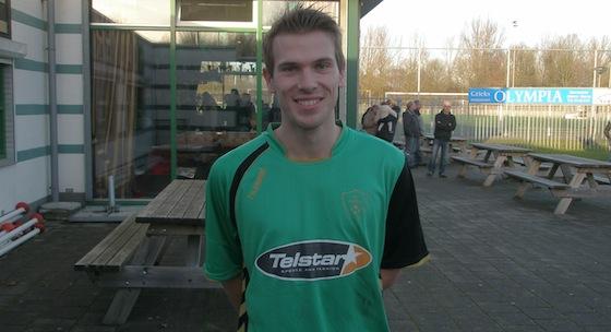 Leroy van Zwam scoorden twee keer voor Almere