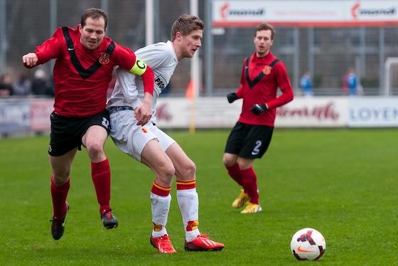 Ook Sjoerd Jens voegde weer een doelpunt aan zijn totaal toe.