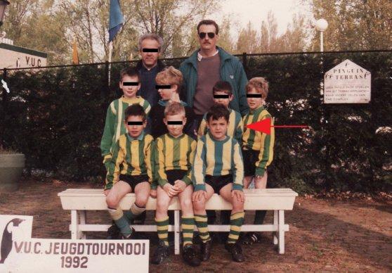 gideon voetbal vroeger