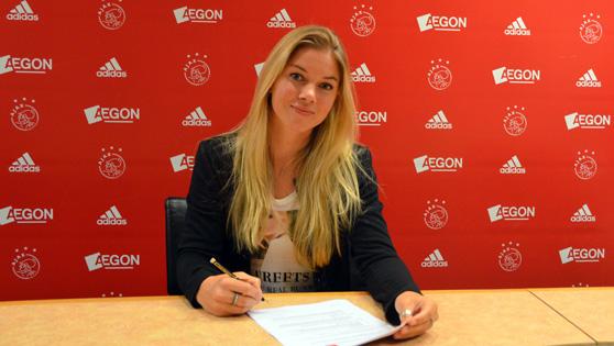 Anouk Hoogendijk terug bij Ajax