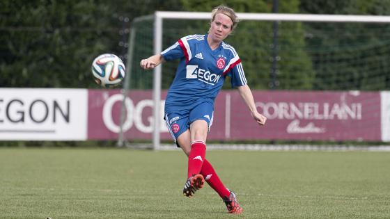 29-07-2014, Eerste training Ajax vrouwen op De Toekomst.