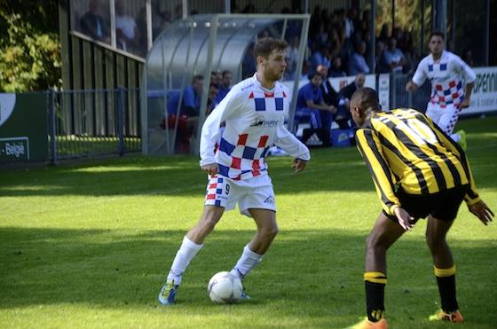 Foto Reinoud Buijs: Dennis Kaars kreeg een goede kans maar scoorde niet
