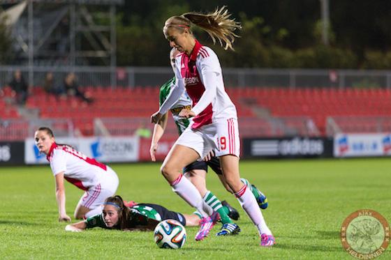 17-10-2014-Ajaxvrouwen-PEC-Zwolle-IMG_5545