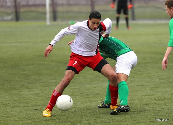 Reda Kharchouch promoveerde dit seizoen met VVA/Spartaan naar de zondag tweede klasse. Foto: Koos van der Leest