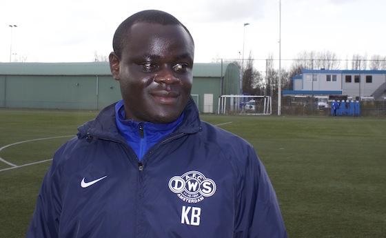 Foto Mario Wormhoudt: Kwadjo Boateng in betere tijden