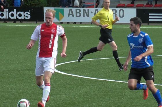 Ajax-SDC Putten 19-09-2015 (Kevin de Visser)