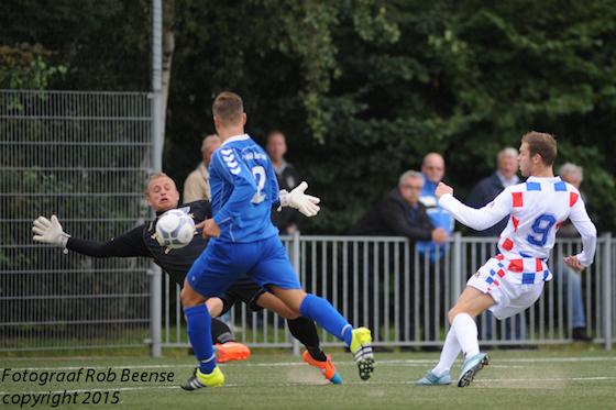 Foto Rob Beense: Ook Dennis Kaars wist tegen Westlandia niet tot scoren te komen