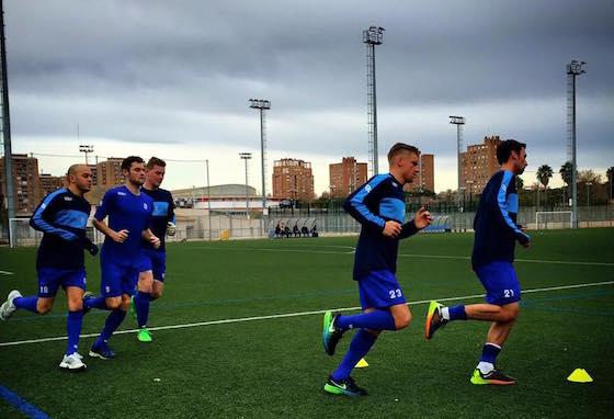 De Dijk verblijft momenteel voor een vijfdaags trainingskamp in Valencia