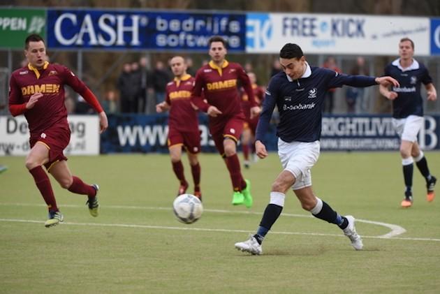 Foto Marcel de Kler: Youssef el Baouchi scoorde in december drie keer tegen De Dijk