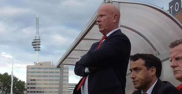 Foto HAV: Ton du Chatinier ziet AFC stunten tegen Ajax