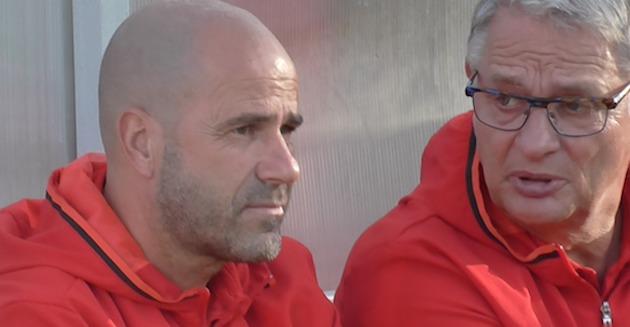 12072016 Peter Bosz Hennie Spijkerman AFC Ajax foto hav