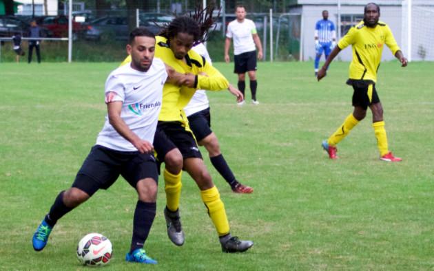 Zohair Chiddi trof twee keer doel tegen NVC