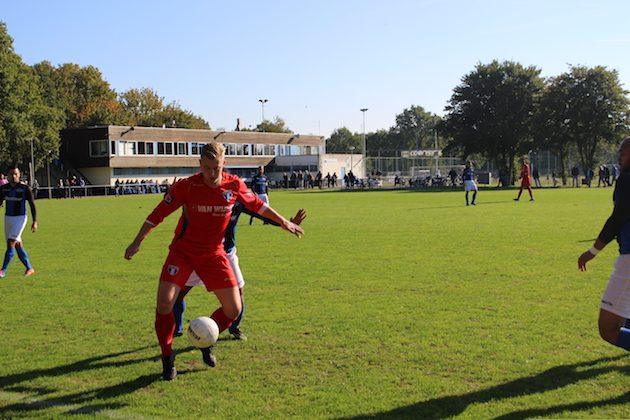 Foto Hav | Milan Geertsma was verantwoordelijk voor de tweede treffer van FC Weesp