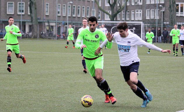 Foto Paul Stoeltie   Ook Siever Abdulrahman en Max van Wakeren hielden elkaar vorig seizoen in evenwicht