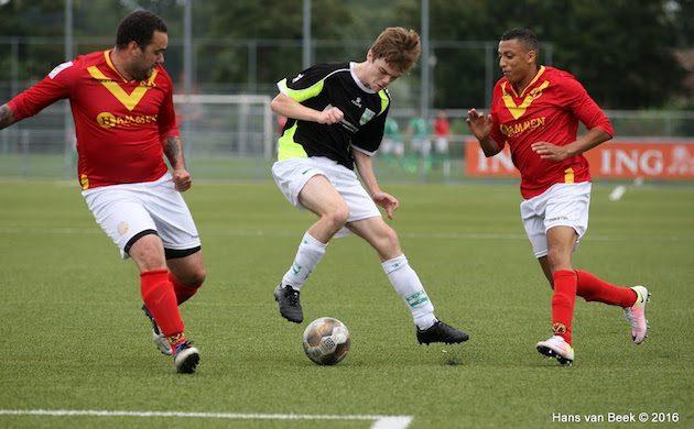 Foto Hans van Beek | Op het kampioenschap van Amstelveen verloor Nautilus ook van Amstelveen Heemraad