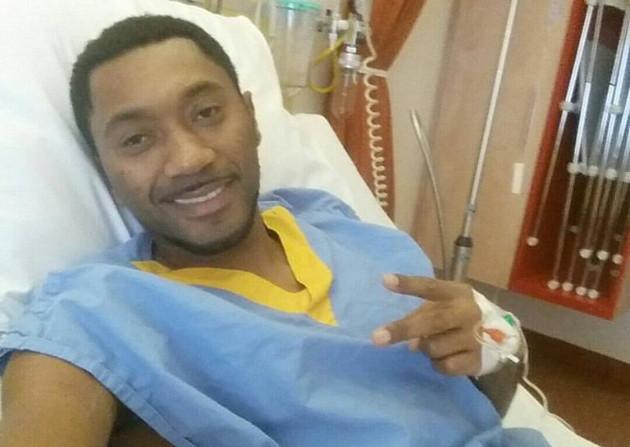 Foto Facebook | Sanches Silva in het VU-ziekenhuis